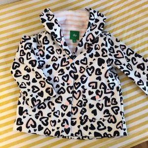 Girls new lined raincoat / light jacket